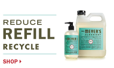 Reduce, REFILL, Recycle. Shop